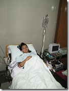 at delivery room after epidural